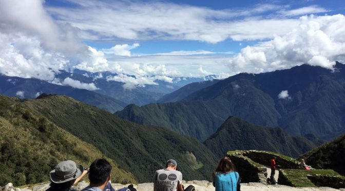 マチュピチュへインカ道3泊4日のたび インカトレイルで準備するもの