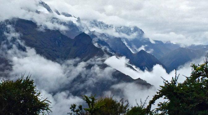 空中都市マチュピチュへ、インカの道をトレッキングしてきたよ②