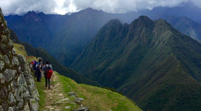 空中都市マチュピチュへ、インカの道をトレッキングしてきたよ③
