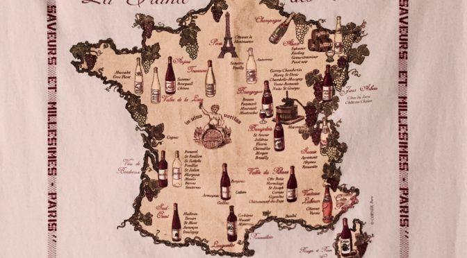 【ちょっとだけワイン通】ワインの選び方 産地と品種から見てみよう