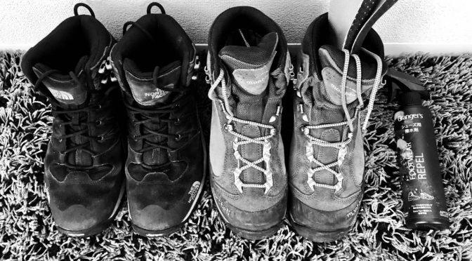登山靴のお手入れ・保管方法とニオイ対策について