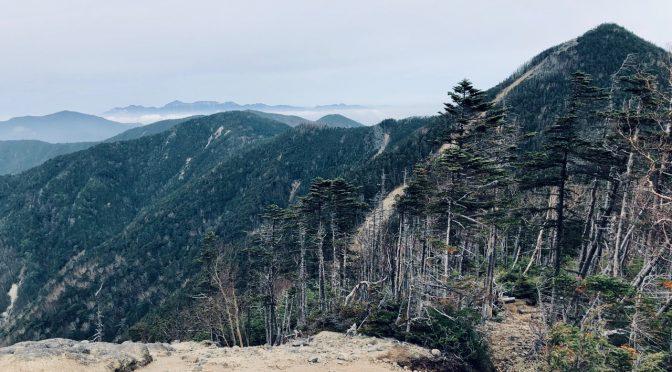 【百名山】大弛峠から甲武信ヶ岳へテント泊
