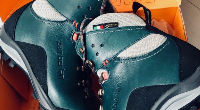 登山靴を買い替えてこの夏はアルプスへ行くぞ宣言!ザンバランのマリーGT