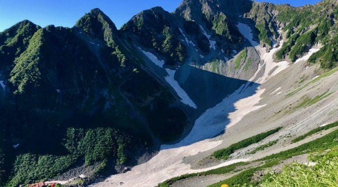 【百名山】涸沢カールから北穂高岳へ 〜その1