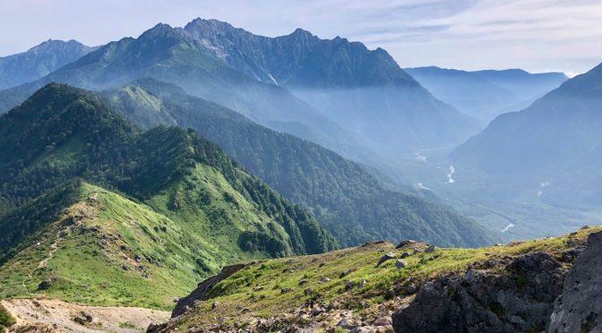 【百名山】焼岳 〜穂高連峰の岩稜を一望